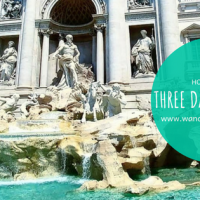 How I Spent 3 Days in Rome - Vatican, Sistine Chapel, Stomach Flu, Colosseum, & Trevi Fountain