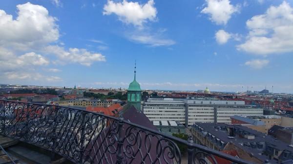 Top of Rundetaarn -