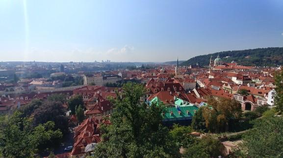 Prague Castle View, Prague Castle, Prague, Czech Republic
