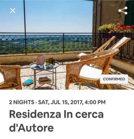 Airbnb Ad, Tuscany