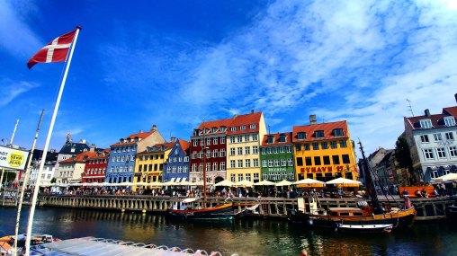 Nyhavn, Nyhavn Canal, Copenhagen, Denmark