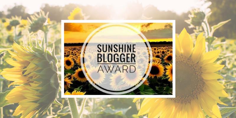 Sunshine Blogger Award Featured Img