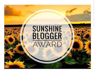 Sunshine Blogger Award, Blogging Award