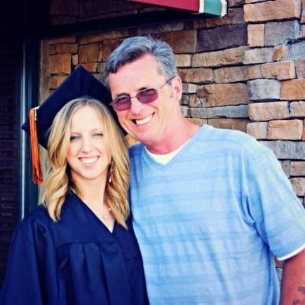 Me & my dad after high school graduation - Wandering Nobody Travel Blog
