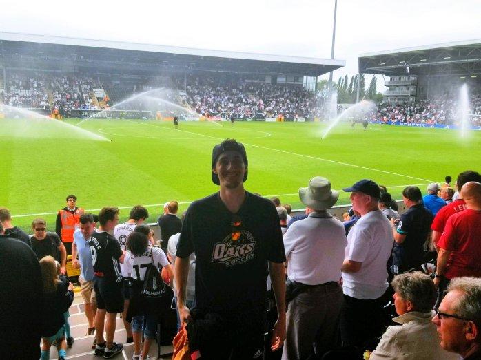 Fulham Game - Wandering Nobody Travel Blog