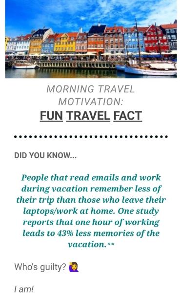 Morning Travel Motivation - Wandering Nobody Travel Blog