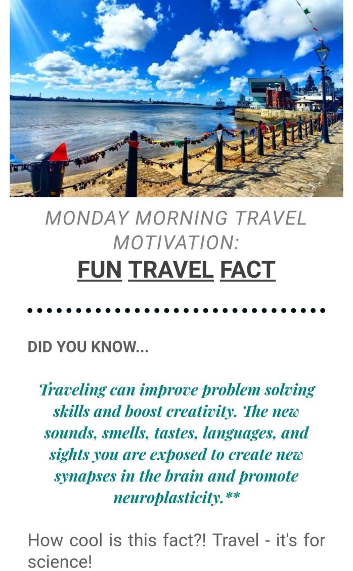 Monday Morning Travel Motivation - Wandering Nobody Travel Blog