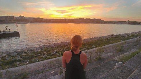 Sunset, Budapest, Hungary, River - Wandering Nobody Travel Blog