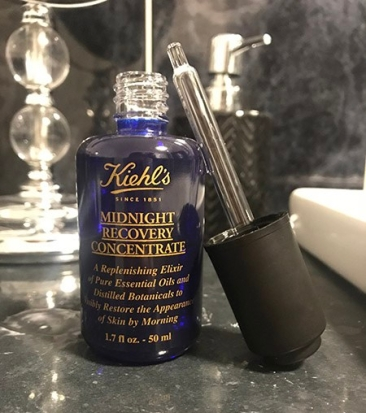 Kiehl's Midnight Recovery Concentrate - Wandering Nobody Travel Blog