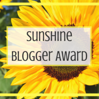 Sunshine Blogger Award 2018 #2