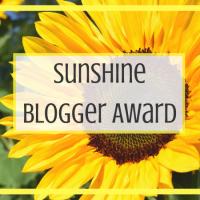 Sunshine Blogger Award 2018 #2